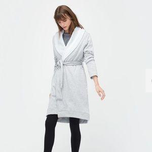 UGG BLANCHE Fleece Plush Robe - Long Sleeve